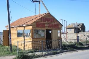 Типичный магазин алкогольной продукции в Оленевке