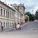 Вид на Троицкую улицу в 1974 году