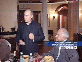 Владимир Путин и Никита Михалков