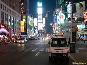 7-е авеню с выходом на Таймс сквер