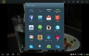 """Экран """"Поделиться"""" на устройстве Android (не до конца)"""