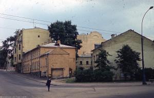 Вид на Троицкую улицу в 1976 году