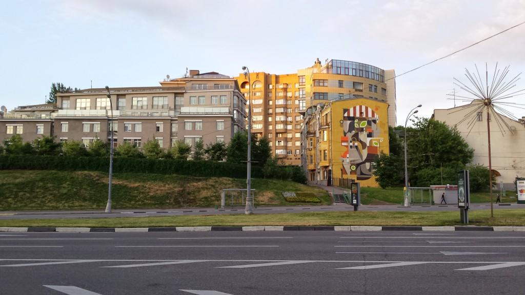 Вид на Троицкую улицу с Олимпийского проспекта, 2014